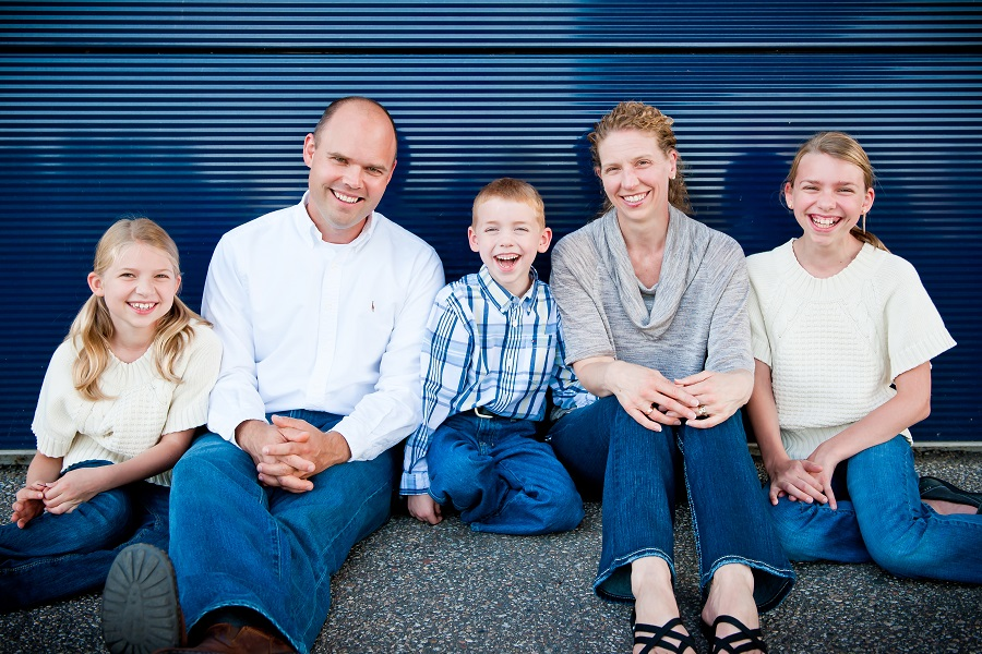 Mike Spack (and Family)