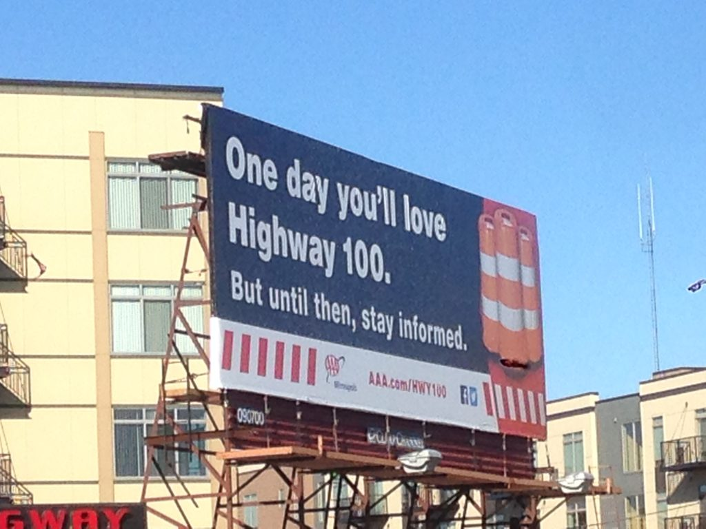 Billboard Advertising Construction Updates