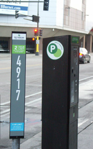 Parking Meter Kiosk