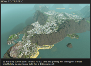 SimCity with no Congestion