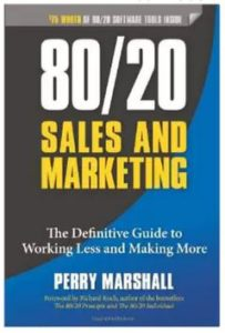Book - 80 20 Sales and Marketing