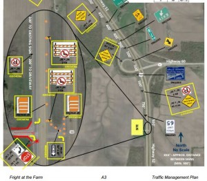 Traffic Management Plan at Fright at the Farm