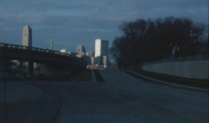View of the Minneapolis Skyline in 1966 from 35W before it was opened. Source: City of Minneapolis Flickr
