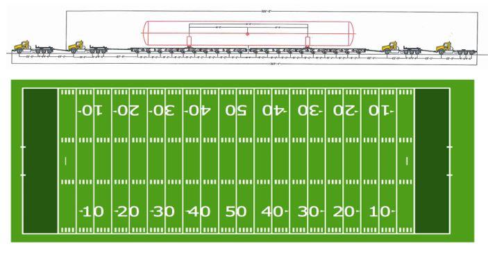 Scott County Truck and Football field