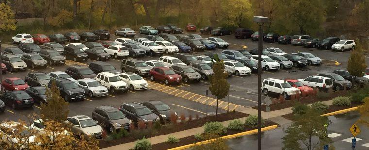 Parking Lot - Park Nicollet Bldg Excelsior 2 - NAC