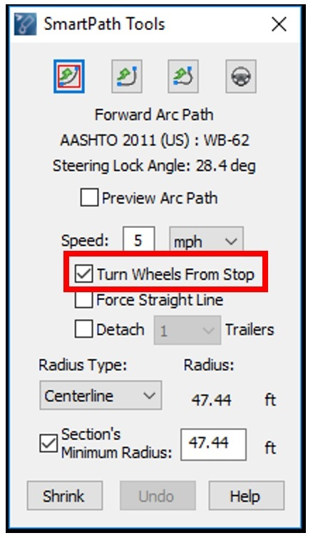 AutoTURN: Intro for Traffic Project Work (Design Path Tools