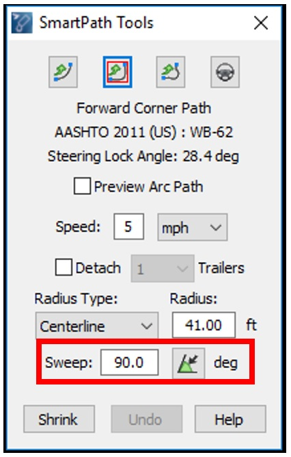 Autoturn Intro For Traffic Project Work Design Path Tools
