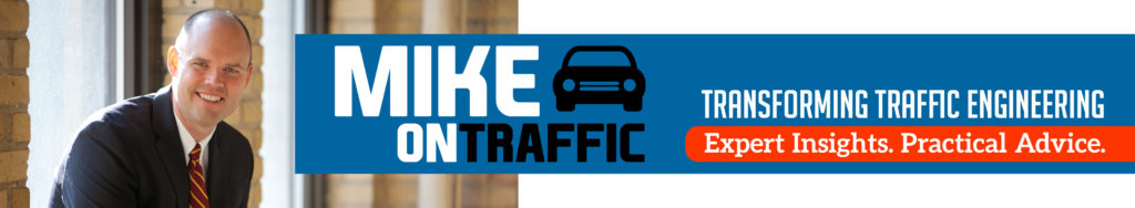 Mike on Traffic Newsletter Header